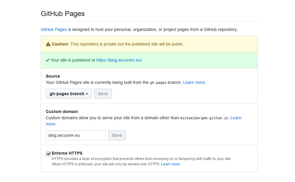 GitHub Pages generated a (rogue?) TLS cert for my own domain!